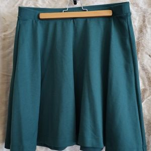 Forest green Old Navy circle skirt